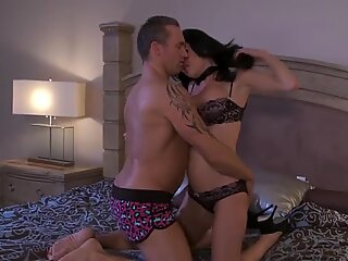 Veronica Avluv has found a dildo but gets fucked with a real cock
