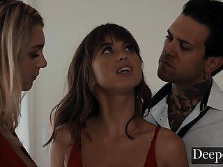 Deeper. Riley, Gabbie And Vicki Just Love To Share - Busty Gya