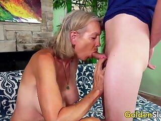 Golden Slut - Blonde Mature Beauties Blowjob Compilation 1