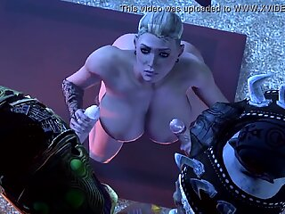 Tribe Girl Fucked by a Monster