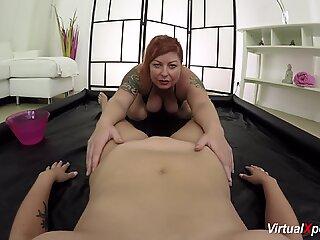 lesbian bbw POV nuru massage
