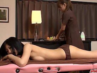 Aoi Miyama gives massage - More at Japanesemamas.com