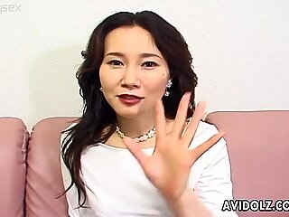 Asian mom - filthy scum is too beautiful for love.