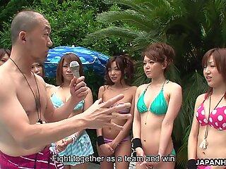 Mass asian sex party