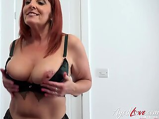 AgedLovE Horny Mature Seduces Wild Youngster