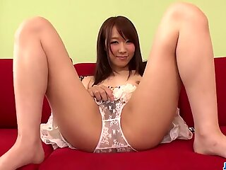 Hitomi Oki Sucks The Cock Before Letting It In Her  - More At