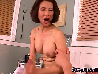 Curvy milf gets her pussy ploughed hard