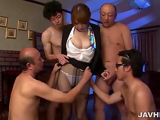 Hikaru Shiina can surely please several cocks