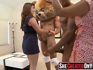 21 Massive  Huge cum swapping clup party 2