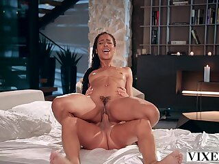 VIXEN Kira can't fight her attraction to her married boss