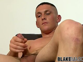 Billy S loves jerking off with his massive cock showing off