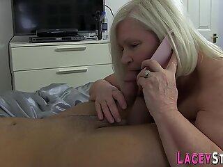 Cock sucking gilf slammed