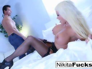Sexy tease with Nikita Von James
