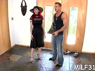 Lusty workout with hot milf