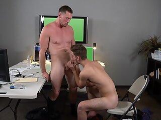 Hot hunky butt banging balls deep