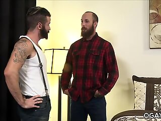 Hairy Gay Asshole Fucked Balls Deep