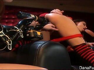 Dana DeArmond drills Naudia Nyce's asshole
